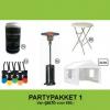 Partypakket 1 Huren - Partytentverhuur Stedendriehoek