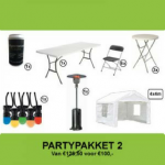 Partypakket 2 Huren - Partytentverhuur Stedendriehoek